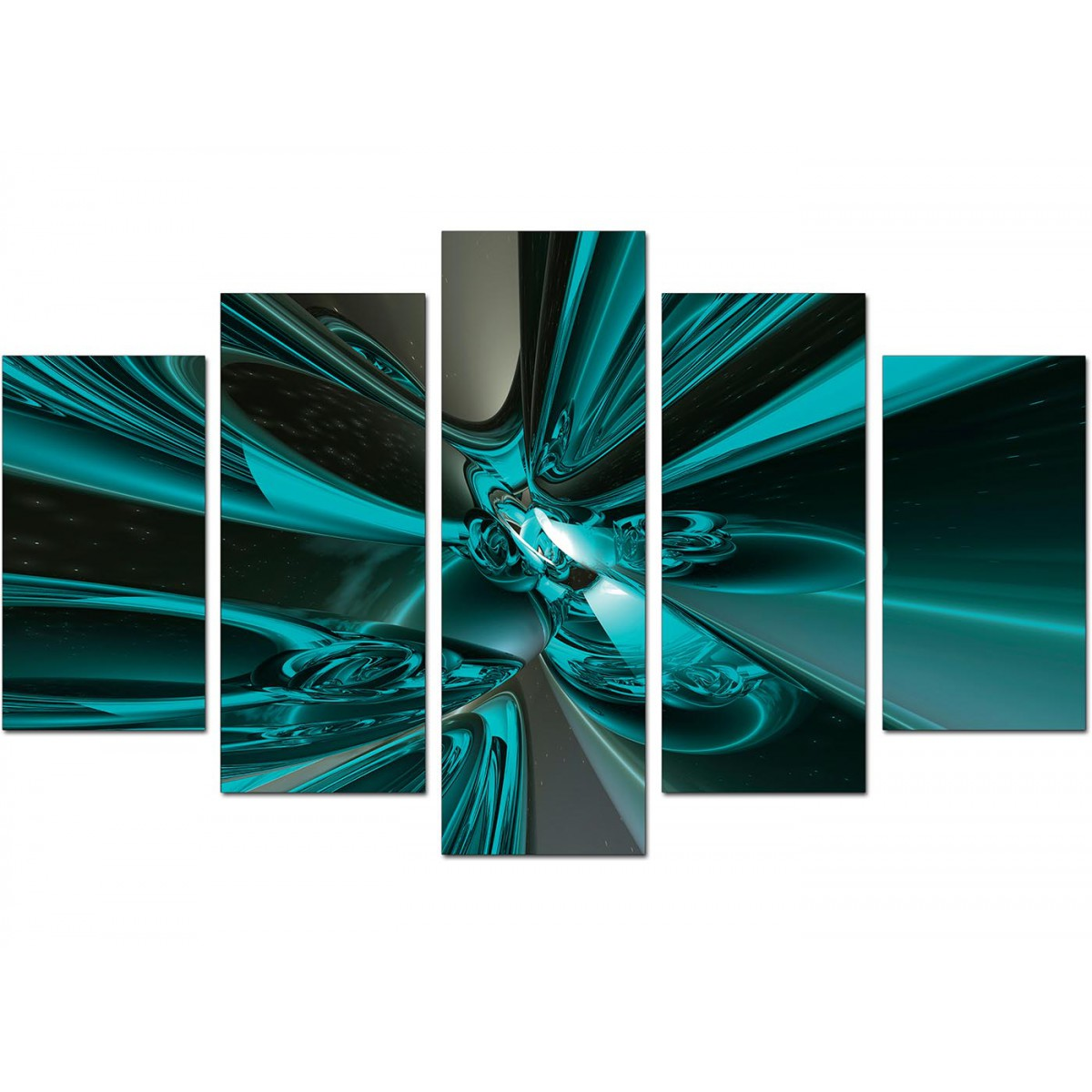 extra large teal abstract canvas prints