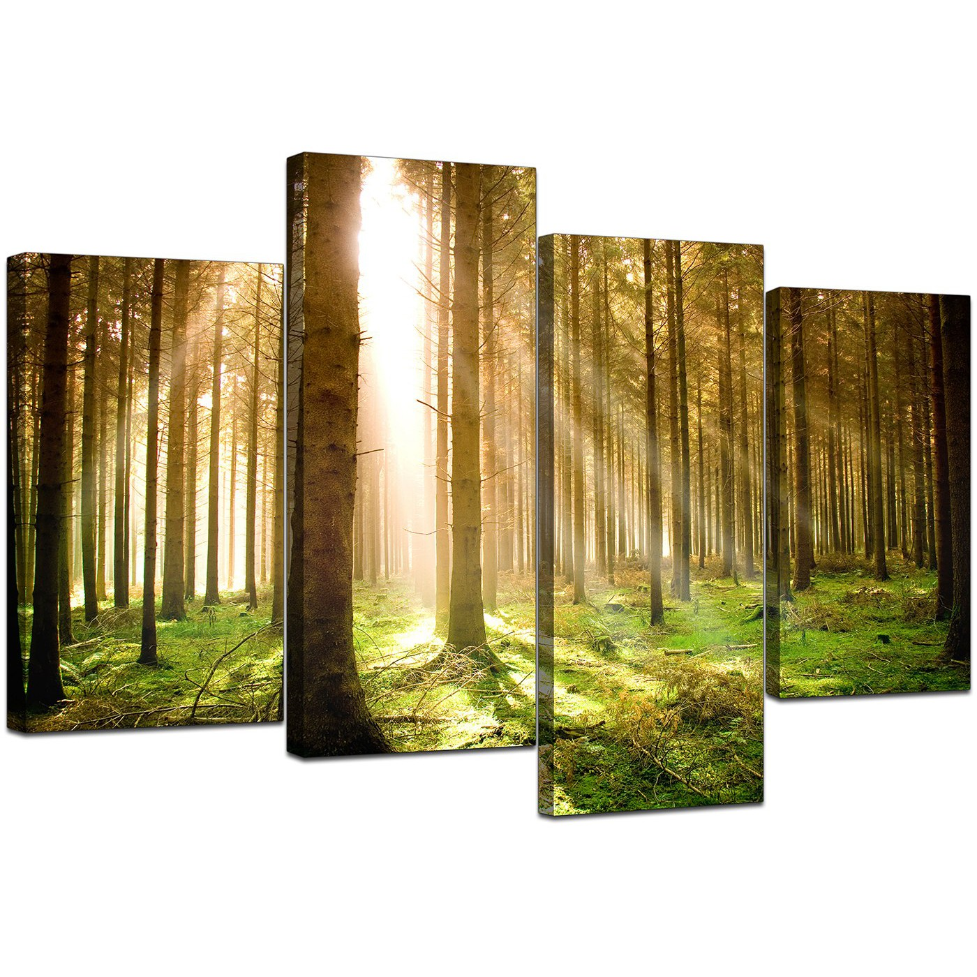 Perfect Set Of 4 Wall Art Festooning - Wall Art Collections ...