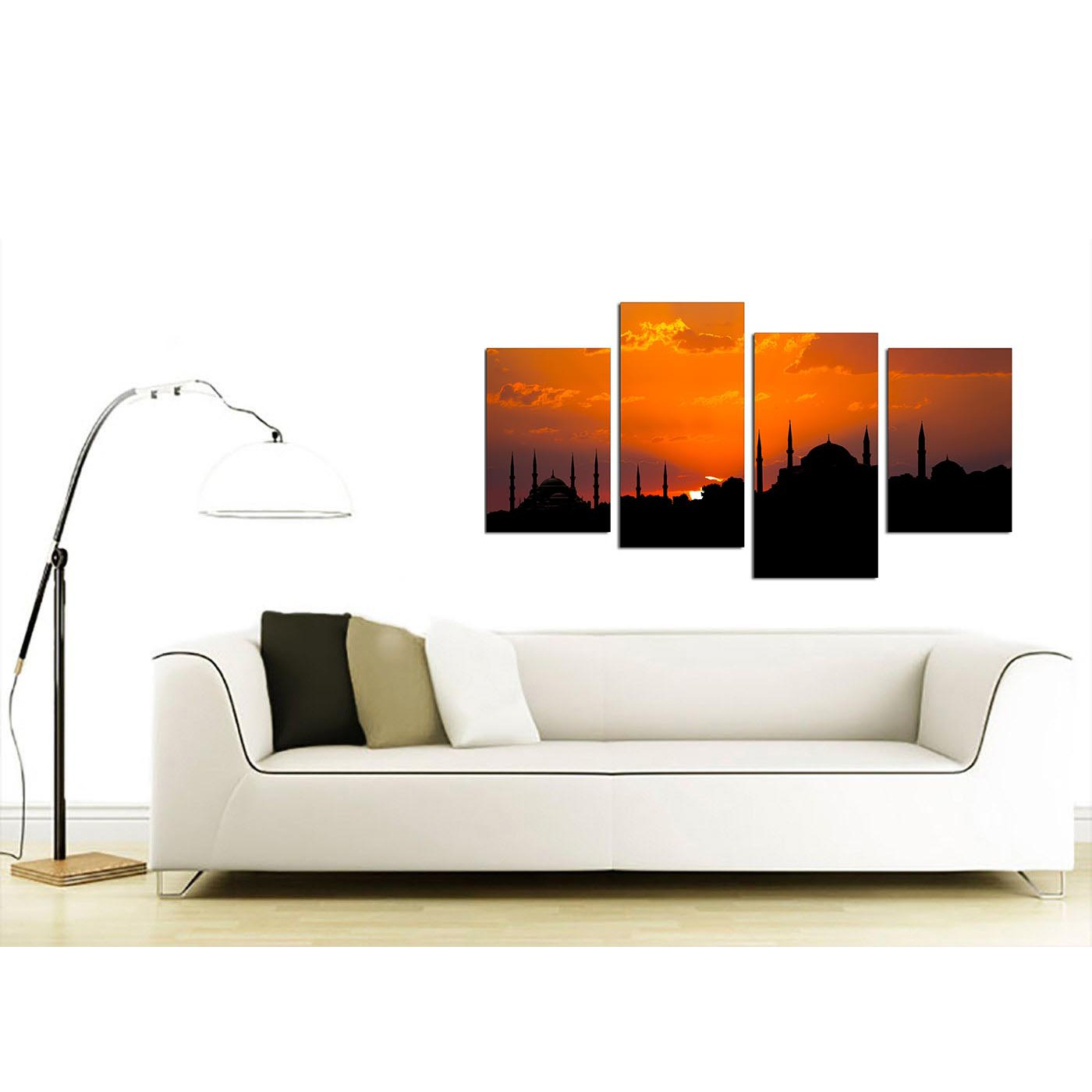 Display Gallery Item 2 Extra Large Istanbul Blue Mosque Canvas Art