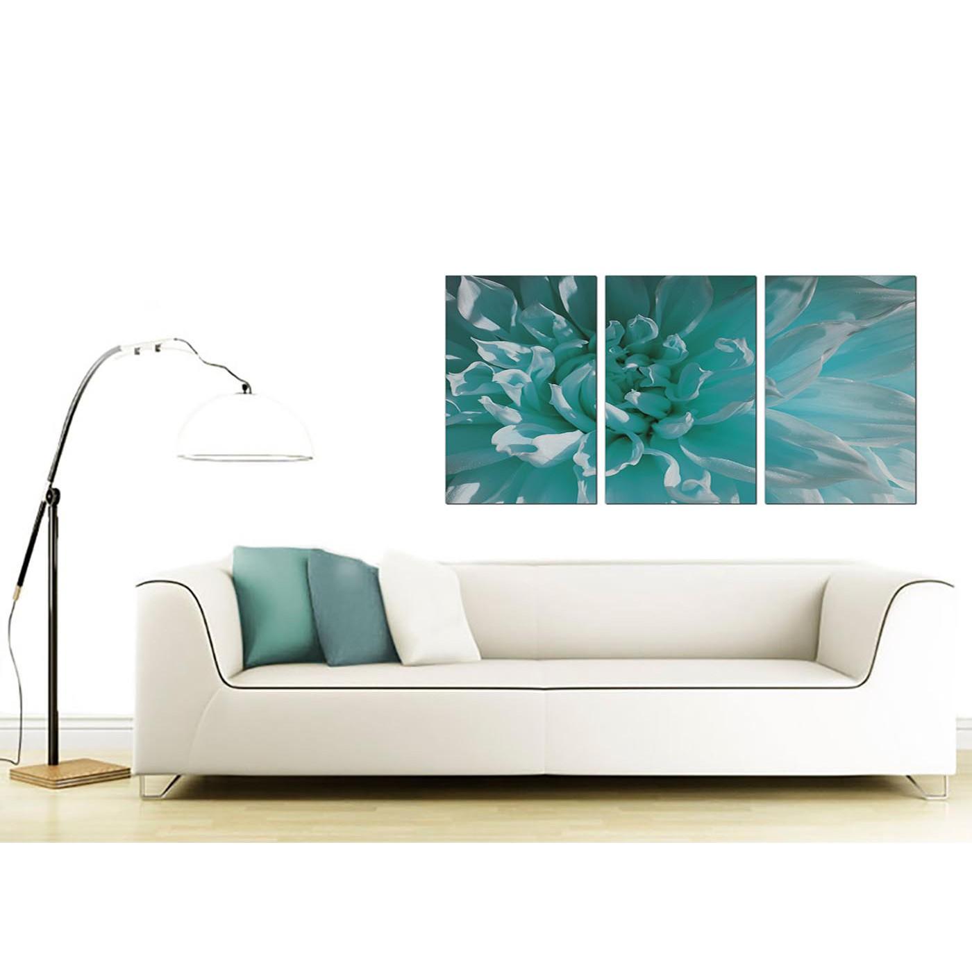 Display Gallery Item 4 Set Of 3 Floral Canvas Prints 125cm X 60cm 3103 Display Gallery Item 5