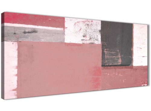 Oversized Blush Pink Abstract Painting Wall Art Print Canvas Modern 120cm Wide 1334 For Your Bedroom
