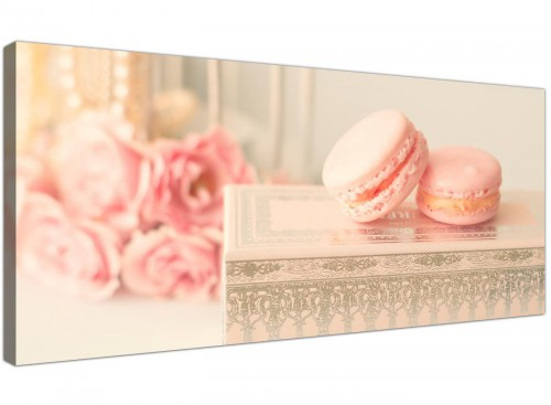 cheap pink cream french shabby chic bedroom abstract canvas modern 120cm wide 1284 for your study