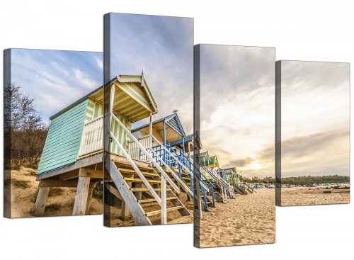 Large Canvas Prints UK Bathroom 130cm x 68cm 4200