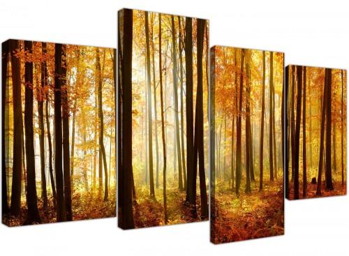 cheap canvas wall art hallway 4 panel 4243
