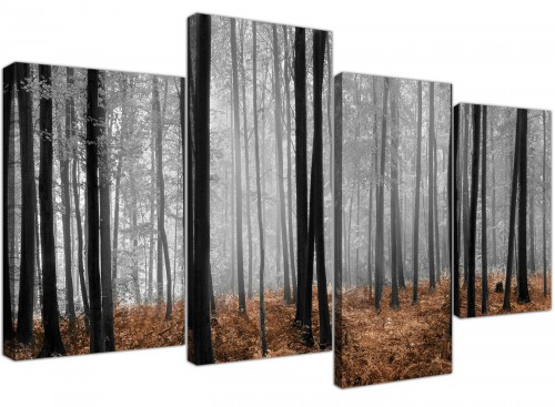 cheap panoramic canvas prints dining room 130cm x 67cm 4238