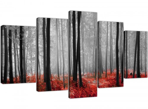 extra large canvas pictures living room set of 5 5236