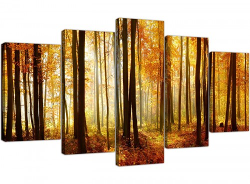 extra large canvas prints hallway set of 5 5243