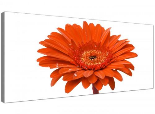 Cheap Canvas Prints Orange Panoramic 1140