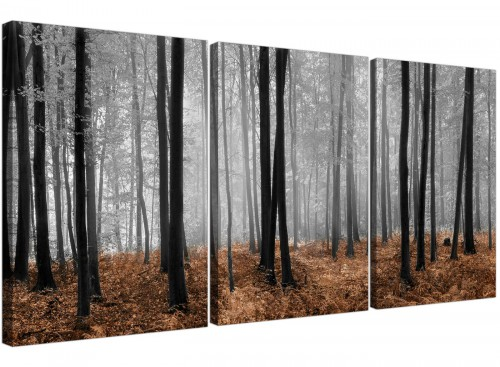 modern panoramic canvas art dining room 125cm x 60cm 3238