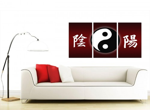 3 Panel Abstract Canvas Prints 125cm x 60cm 3066