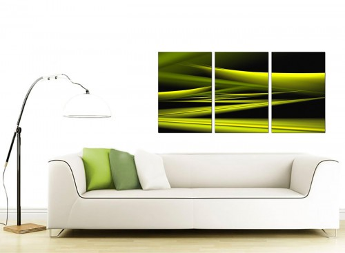 Set of 3 Abstract Canvas Pictures 125cm x 60cm 3047