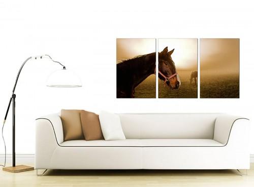 3 Part Animal Canvas Prints UK 125cm x 60cm 3130