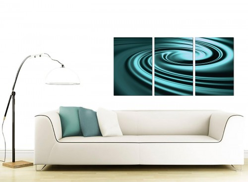 Set of 3 Abstract Canvas Art 125cm x 60cm 3060