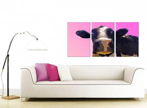 3 Panel Animal Canvas Pictures 125cm x 60cm 3151