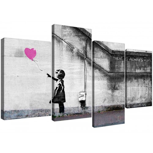 Large Canvas Art Girls Bedroom 130cm x 67cm 4227