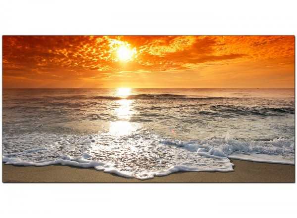 cheap canvas pictures of a beach sunset for your bedroom. Black Bedroom Furniture Sets. Home Design Ideas