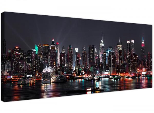 large new york city skyline black white cityscape canvas prints 120cm