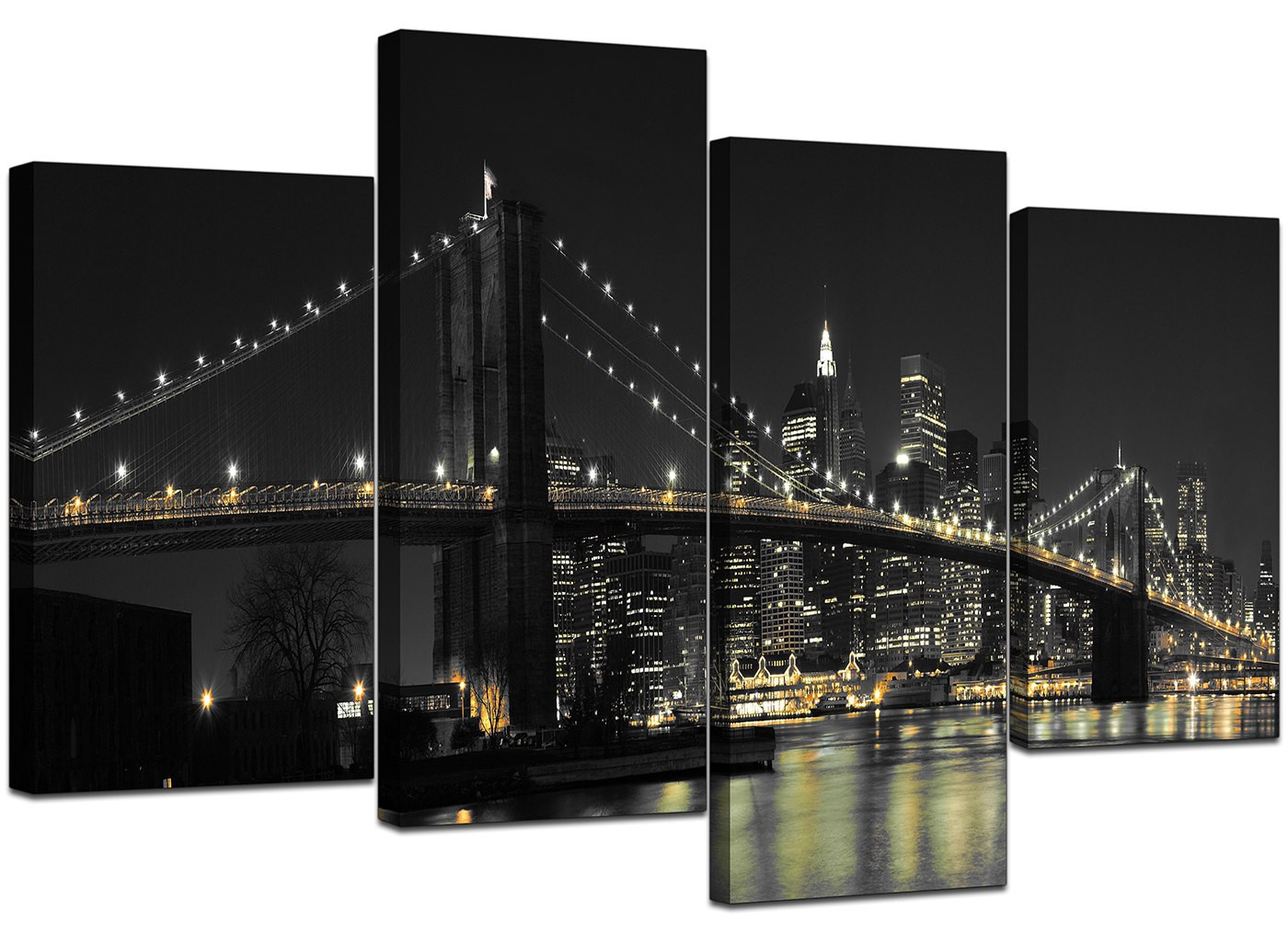 canvas wall art of new york for your office