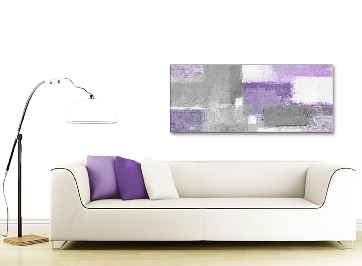 Purple Grey Painting Living Room Canvas Wall Art  : modern purple grey painting bedroom canvas wall art accessories abstract 1376 120cm print from www.wallfillers.co.uk size 1400 x 1028 jpeg 108kB