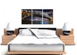 Cheap Sydney Australia Canvas Prints Set of 3 for your Living Room