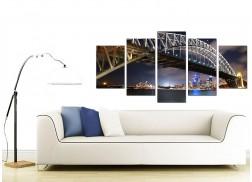 Sydney Australia Canvas Prints for your Living Room - 5 Piece