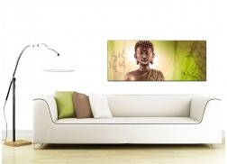 Wide Canvas Art of Buddha for your Bedroom