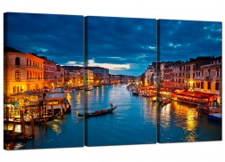 Cheap Venice Italy Canvas Prints UK 3 Part for your Living Room