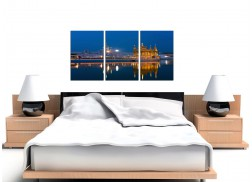 Cheap Sikh Golden Temple Canvas Pictures Set of 3 for your Living Room