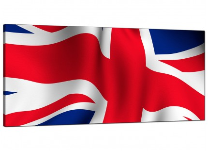 Large Canvas Prints of the Union Jack for your Living Room