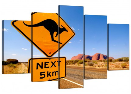 Australia Canvas Prints for your Living Room - 5 Panel