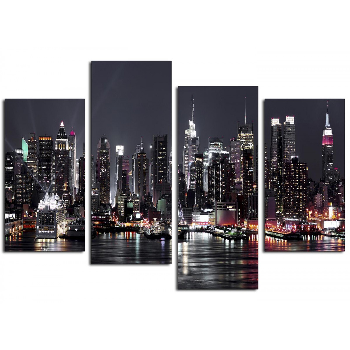 Canvas Pictures Of New York Skyline For Your Living Room