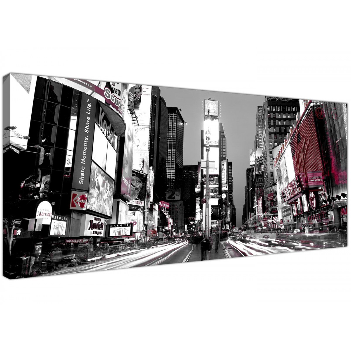42ND STREET NEW YORK CANVAS PRINT PICTURE WALL ART FREE FAST UK DELIVERY