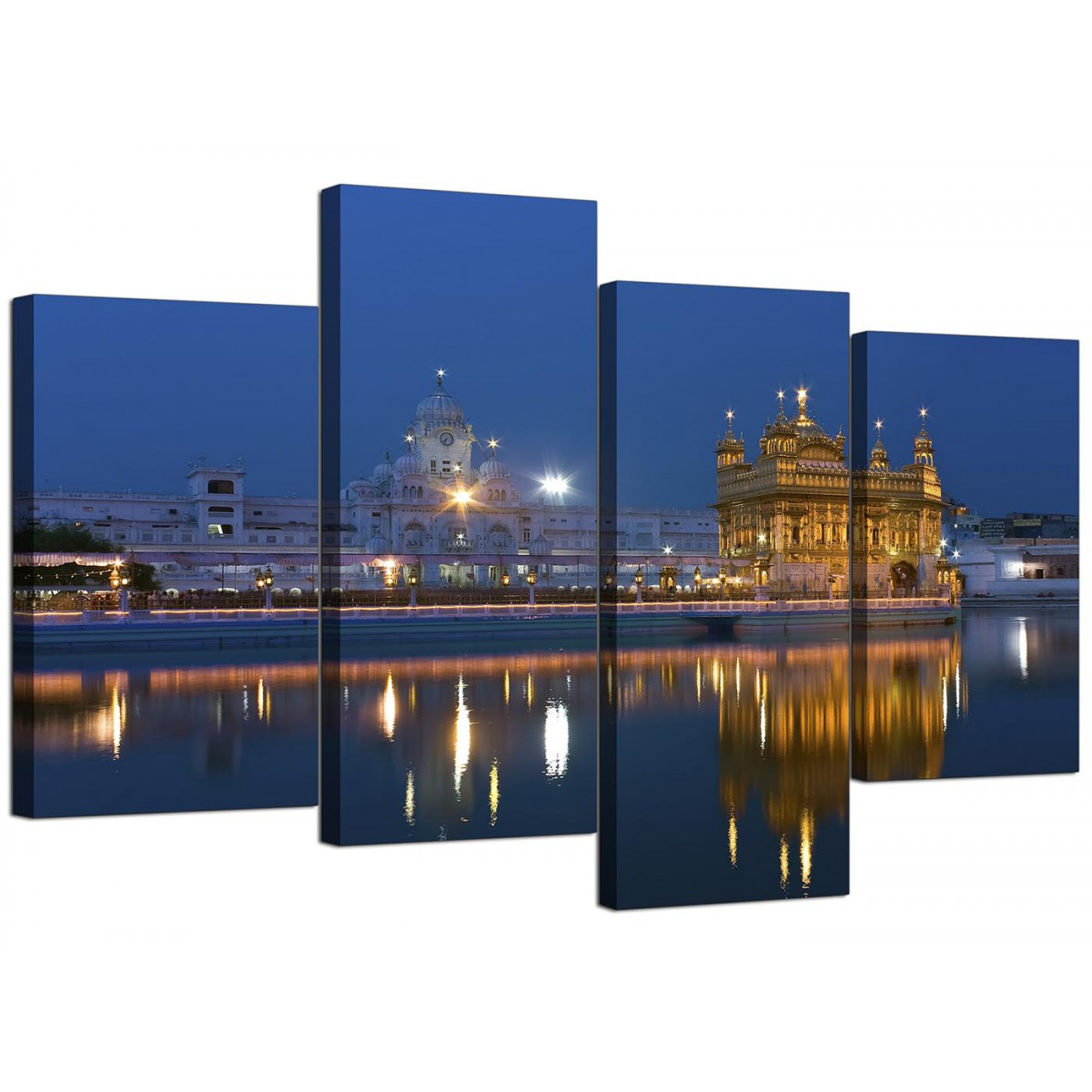 Sikh Canvas Wall Art Of Golden Temple Amritsar For A