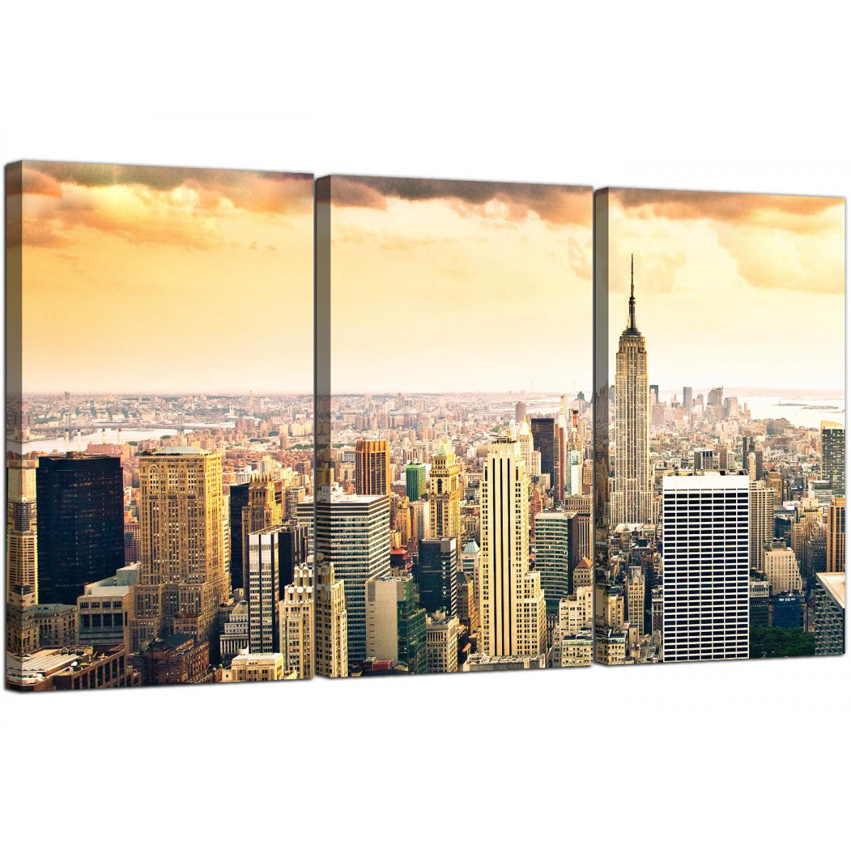 Fantastic New York Wall Art Illustration - Art & Wall Decor ...