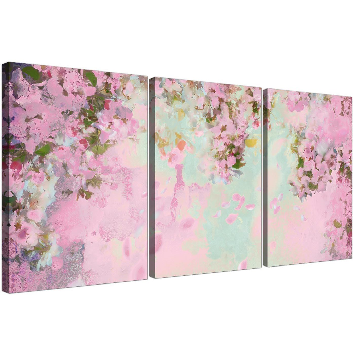 Shabby chic pale dusky pink flowers canvas multi 3 piece 3281 display gallery item 3 cheap shabby chic pale dusky pink flowers floral canvas multi set of 3 3281 for your display gallery item 4 mightylinksfo
