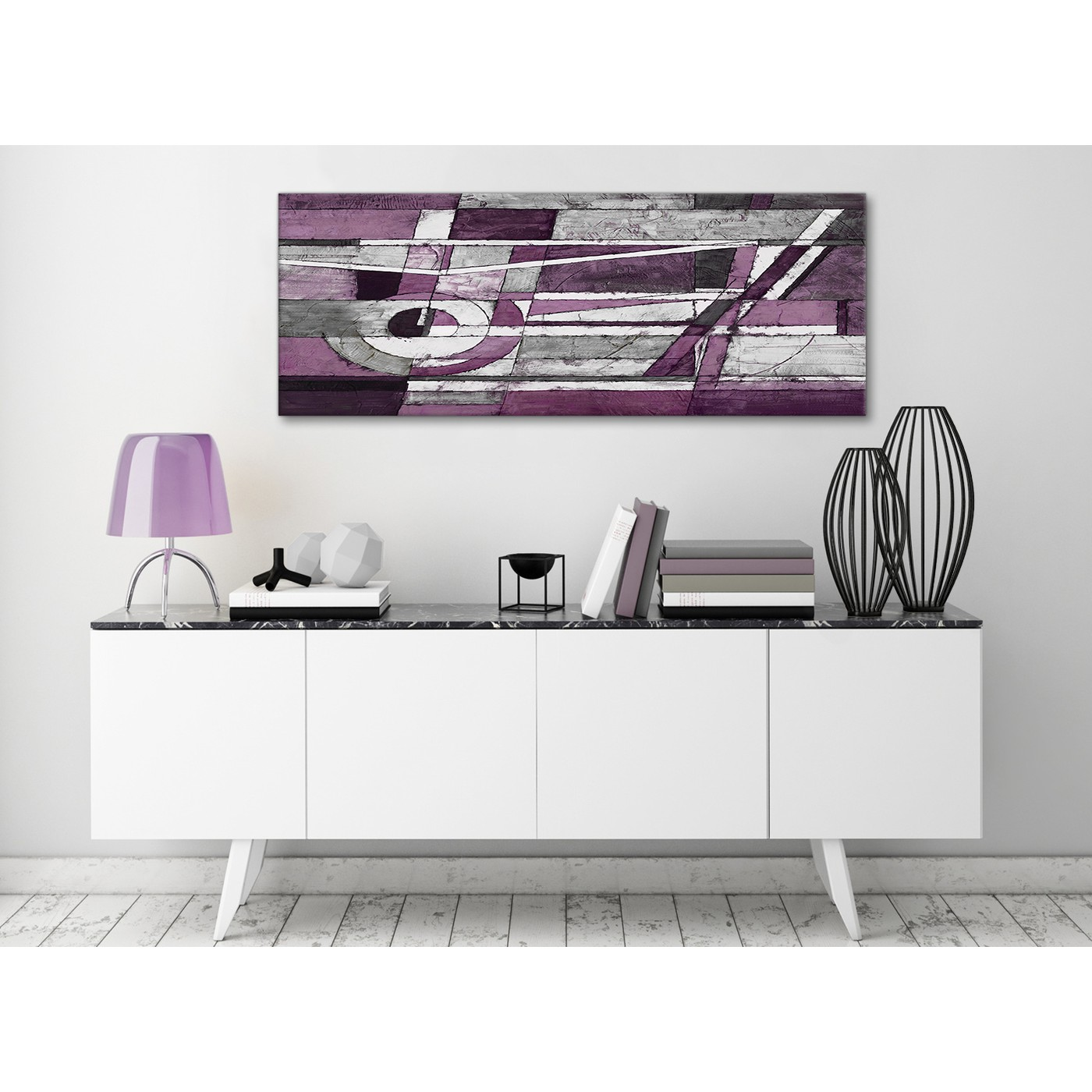 Display Gallery Item 1; Aubergine Grey White Painting Living Room Canvas  Pictures Accessories   Abstract 1406   120cm Print Display Gallery Item 2  ...