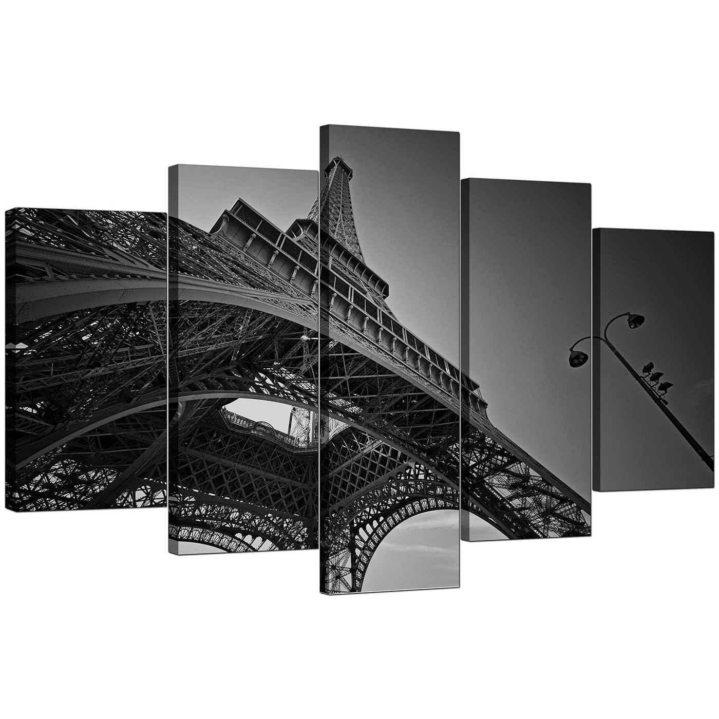 Display gallery item 4 · set of five living room black white canvas art display gallery item 5