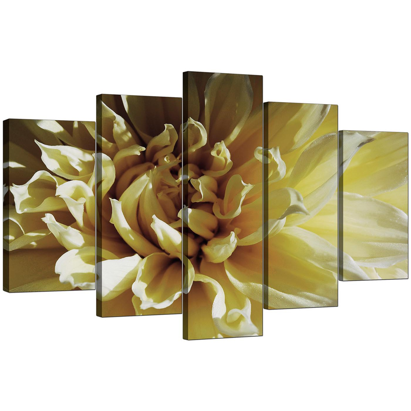 Stunning Large Floral Wall Art Gallery - The Wall Art Decorations ...