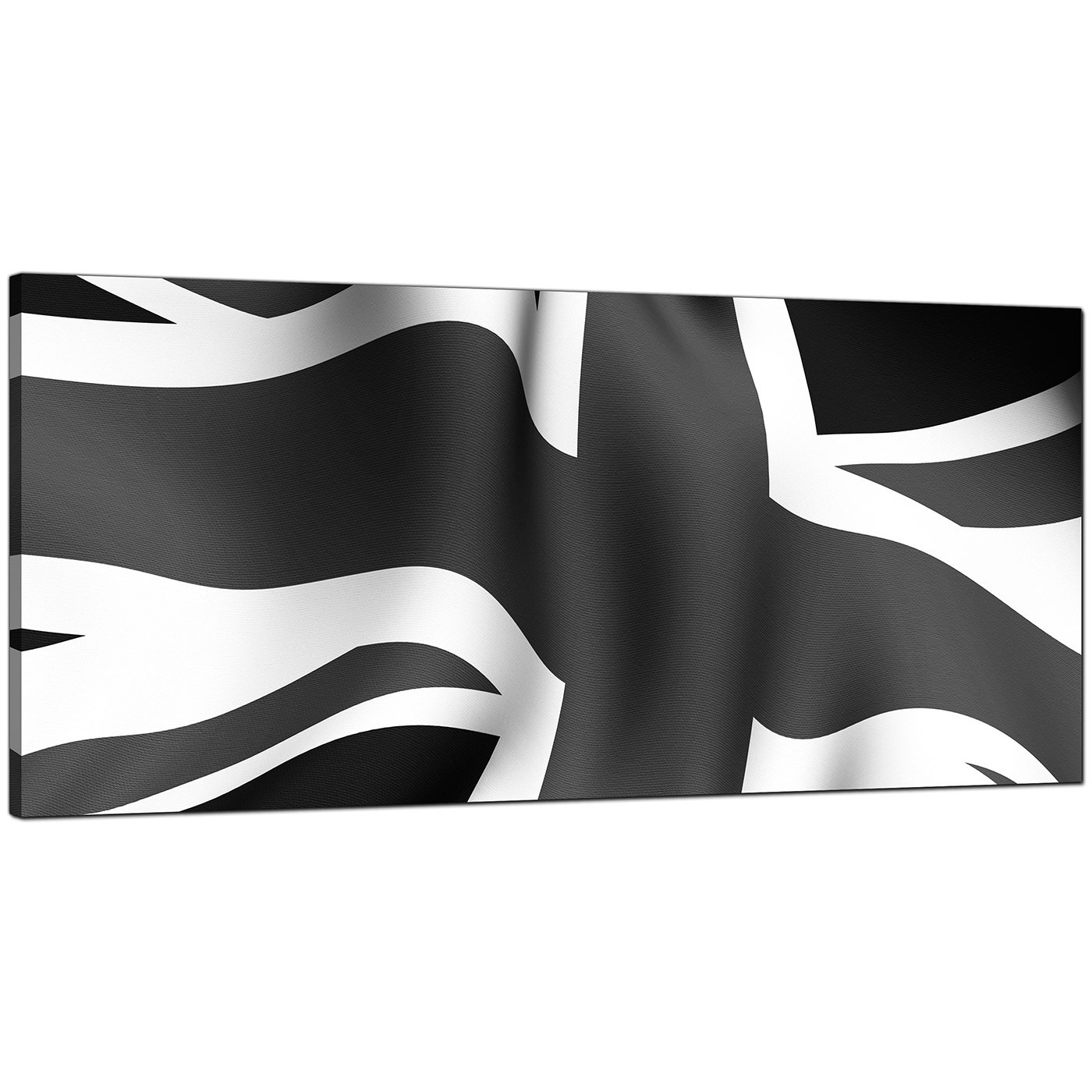 Display gallery item 4 · black white cheap panoramic canvas of union jack flag display gallery item 5