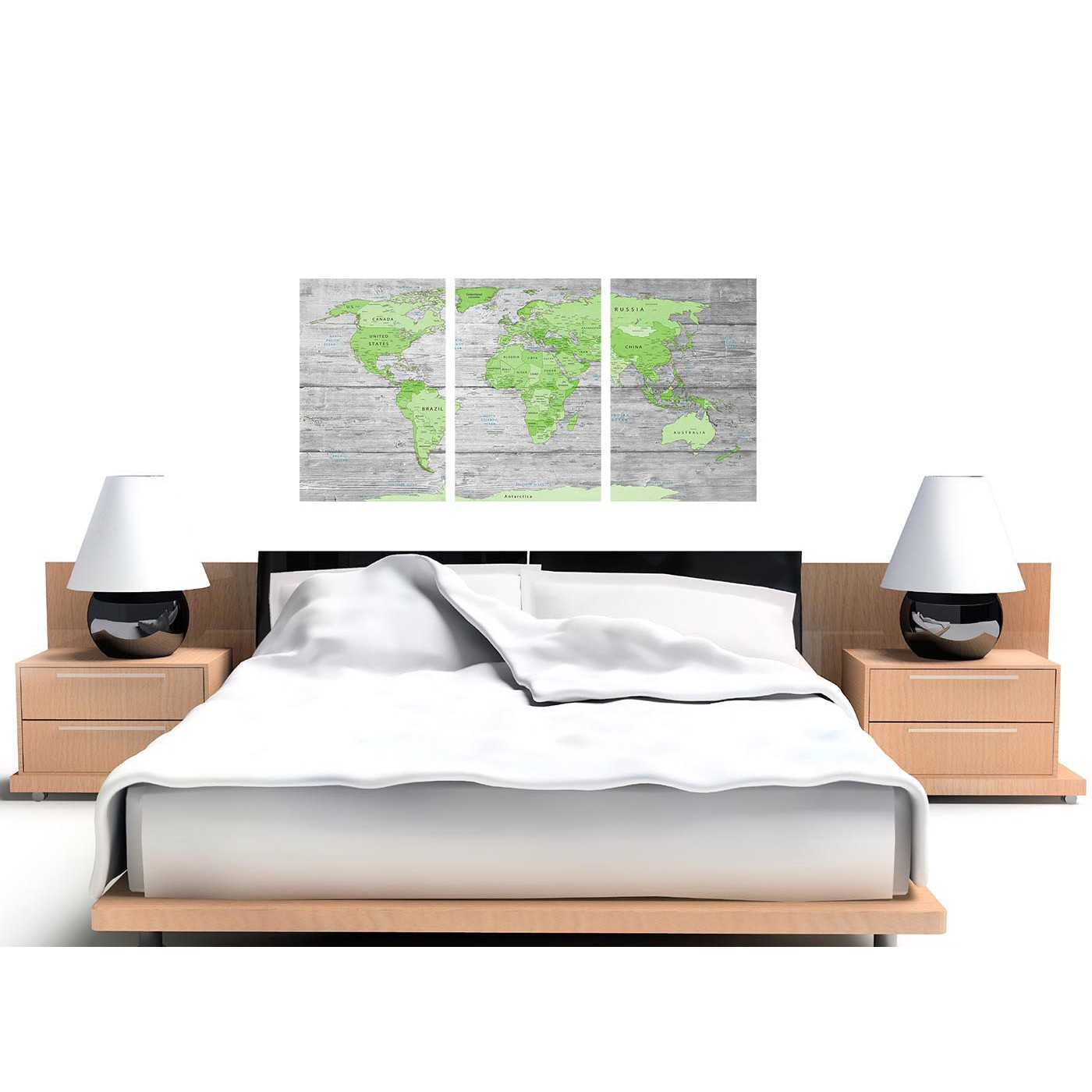 Large lime green grey world map atlas canvas wall art print multi display gallery item 1 cheap green grey large lime green grey world map atlas canvas wall art print maps canvas display gallery item 2 gumiabroncs Images