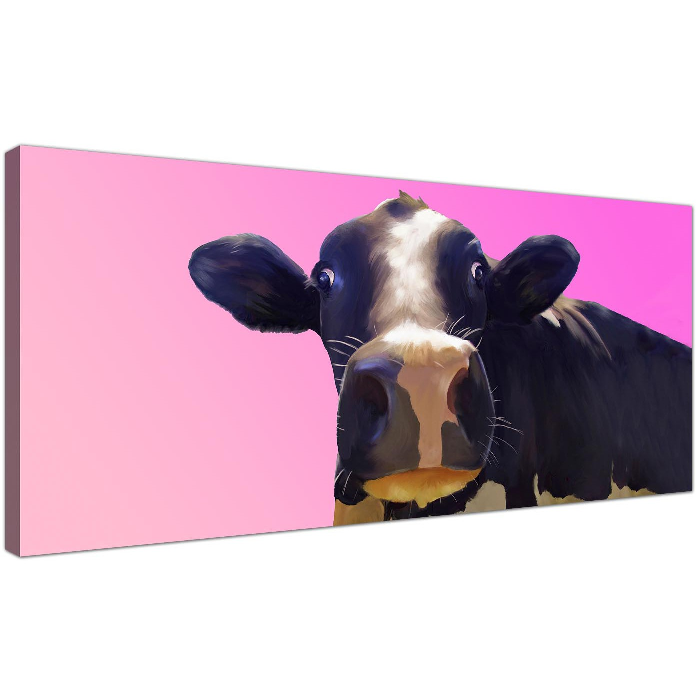 Display Gallery Item 1; Trendy Canvas Prints Pink Panoramic 1151 Display  Gallery Item 2 ...