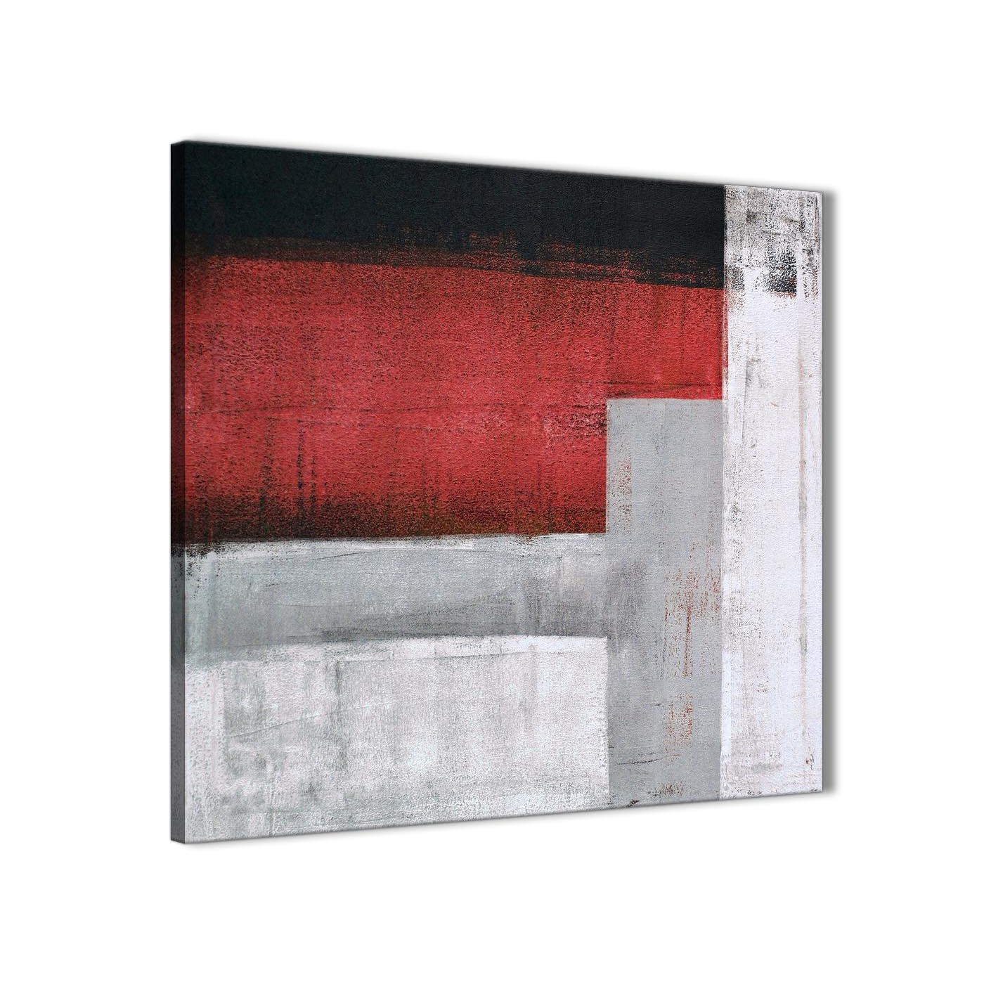 Bathroom Wall Art Uk Amazon: Red Grey Painting Bathroom Canvas Pictures Accessories