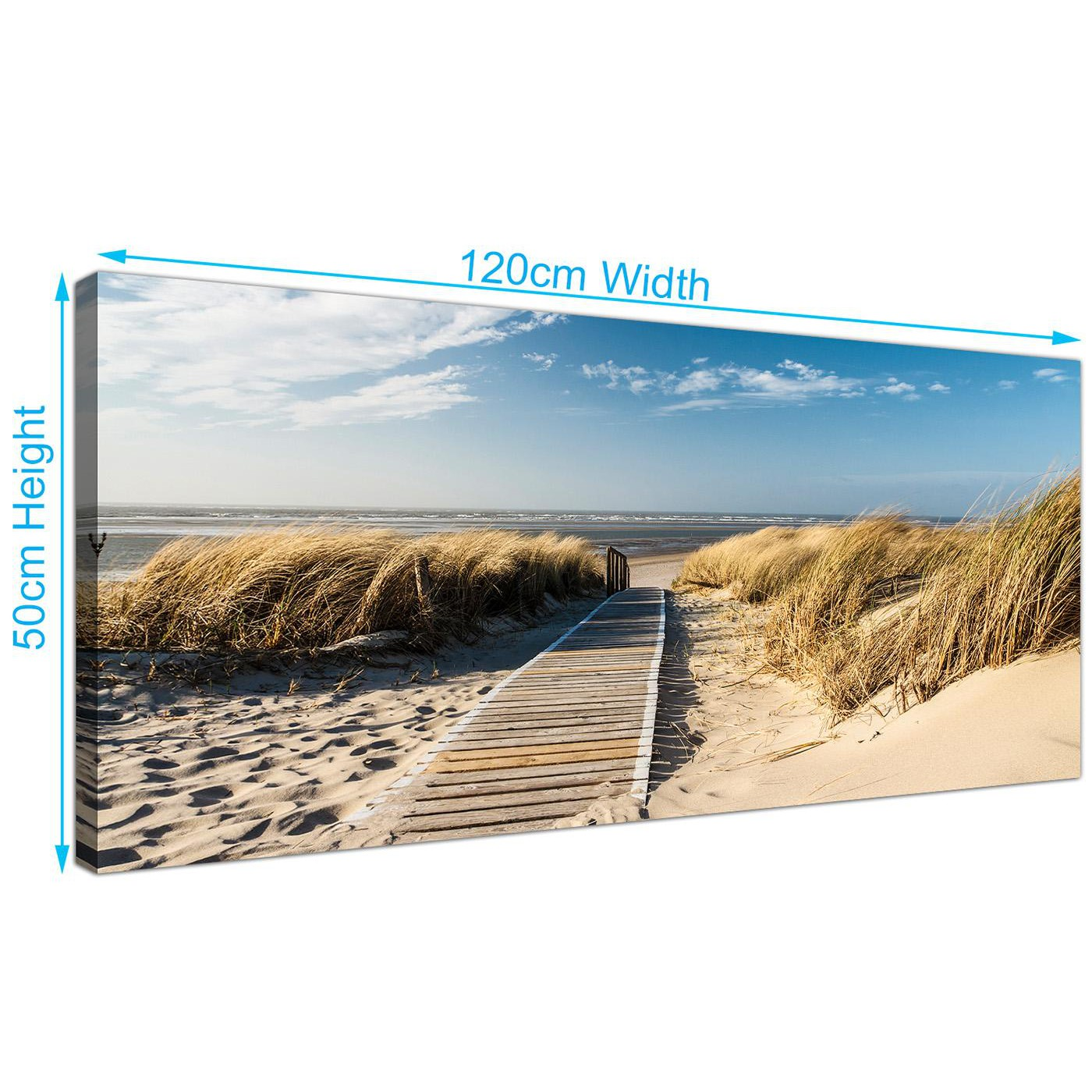 panoramic canvas prints of beach for your living room