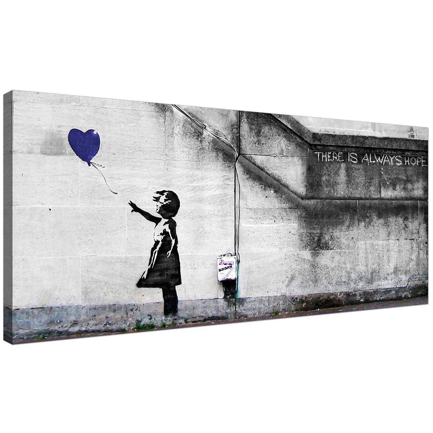 Large panoramic canvas wall art boys bedroom 120cm display gallery item 1