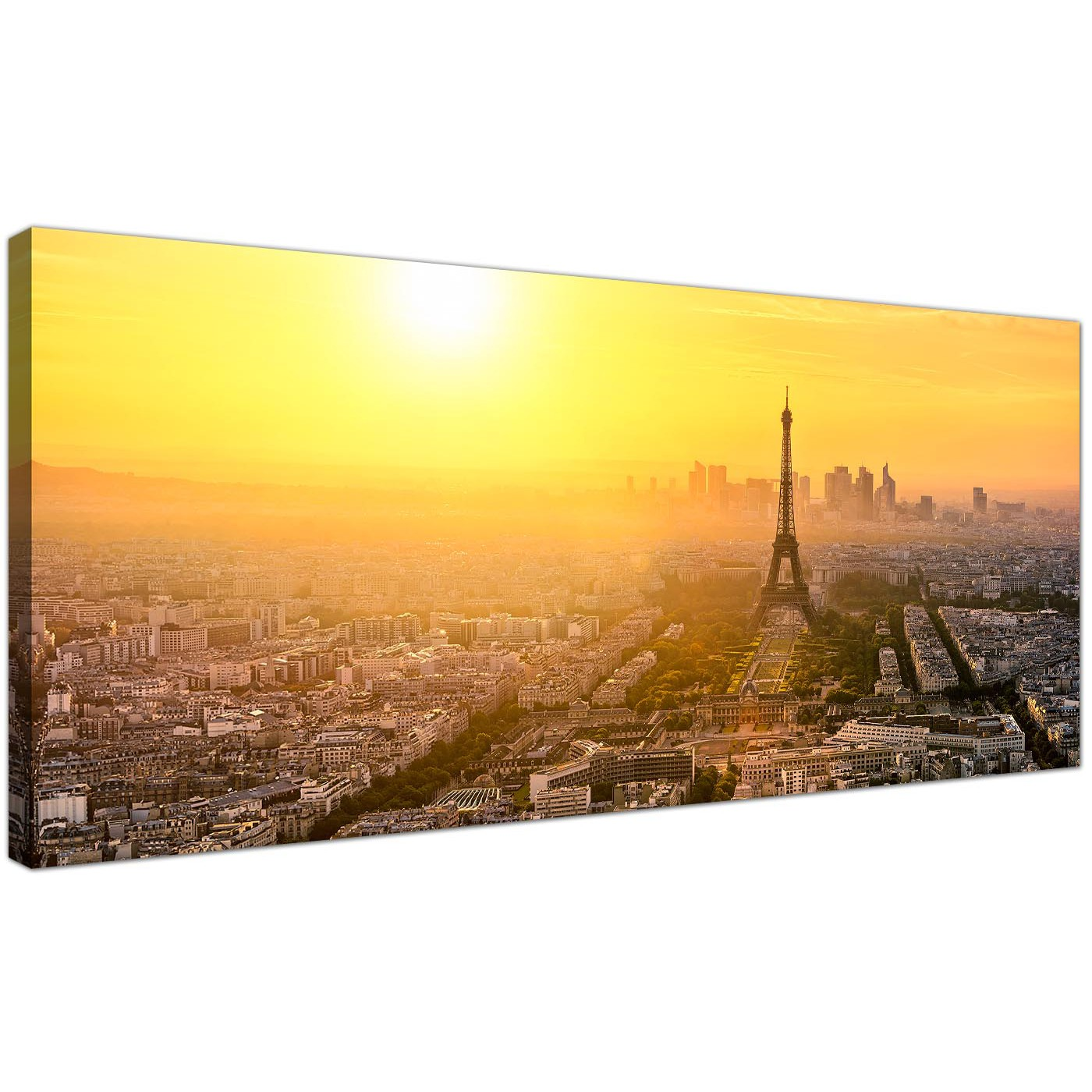 Cheap Canvas Prints of the Paris Skyline for your Living Room