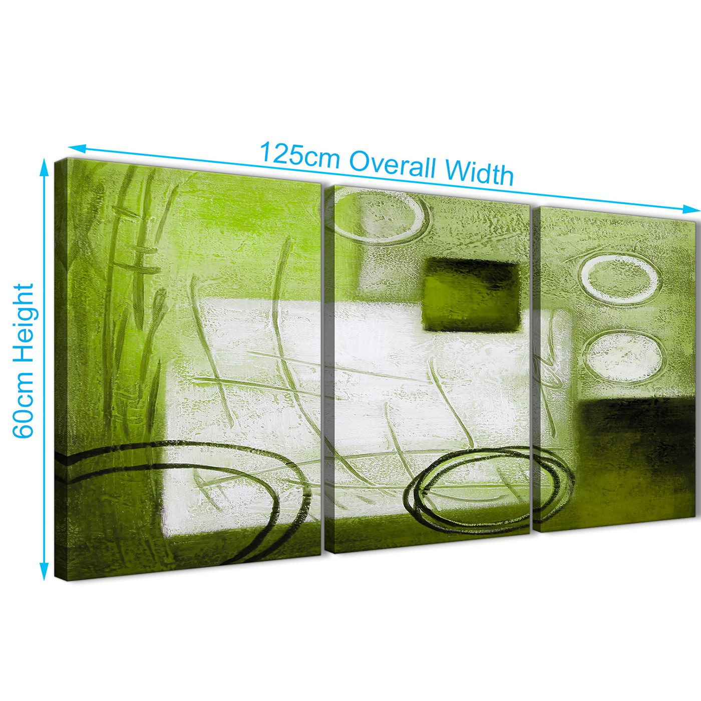 lime green office accessories. Quality 3 Piece Lime Green Painting Kitchen Canvas Pictures Decor -  Abstract 3431 126cm Set Display Gallery Item 3; Multiple Lime Green Office Accessories