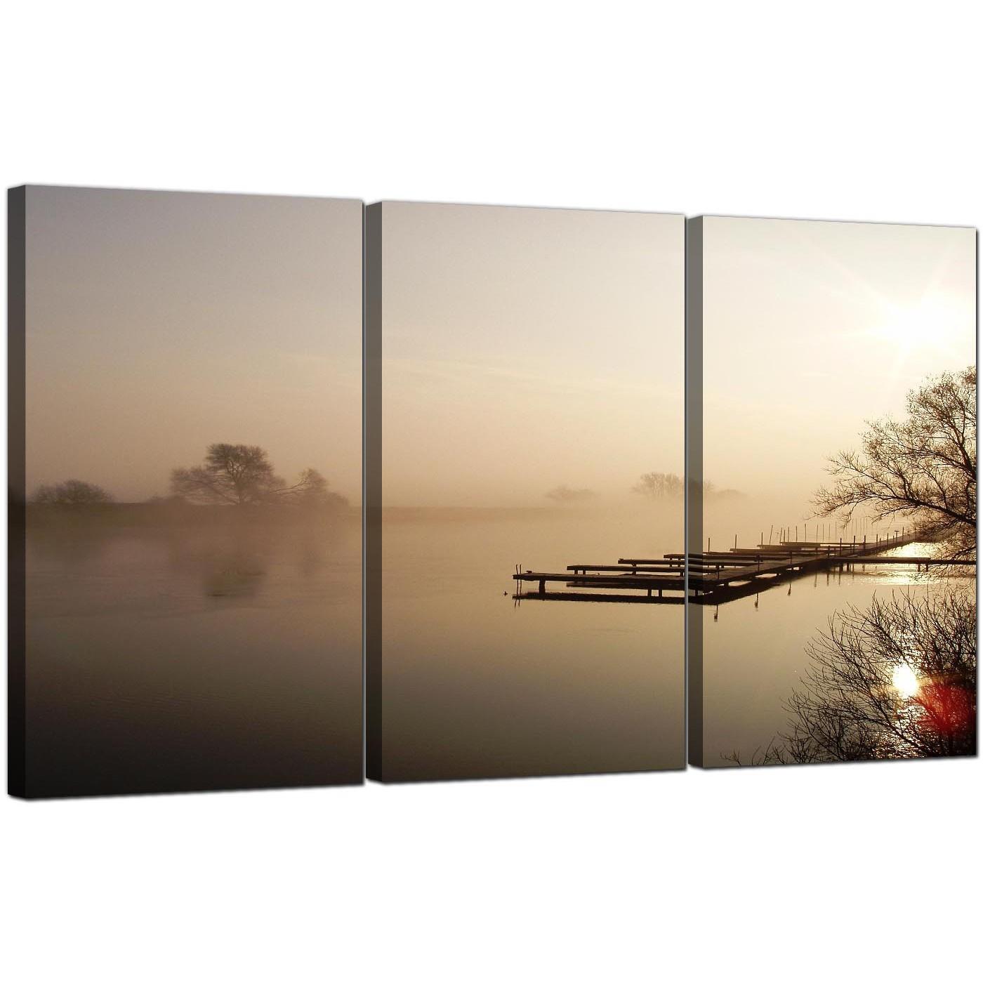 Display Gallery Item 5; Set Of 3 Landscape Canvas Prints UK Countryside  3117 Display Gallery Item 6
