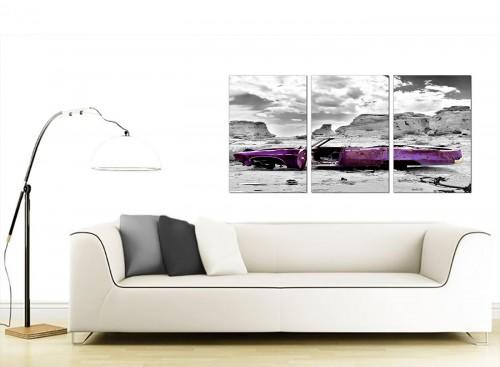 3 Panel Landscape Canvas Art 125cm x 60cm 3144