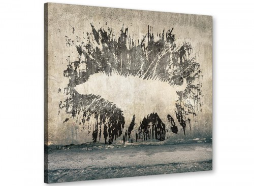 cheap banksy wet dog graffiti banksy canvas modern 79cm square 1s292l for your living room