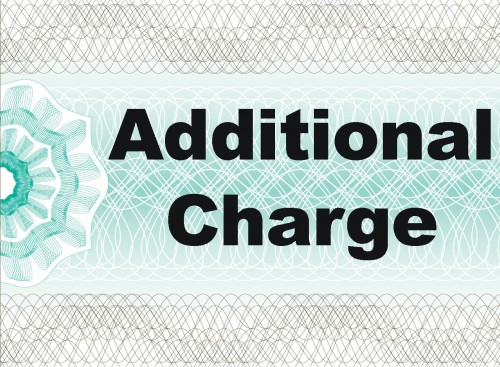 Additional Charge of £74.87
